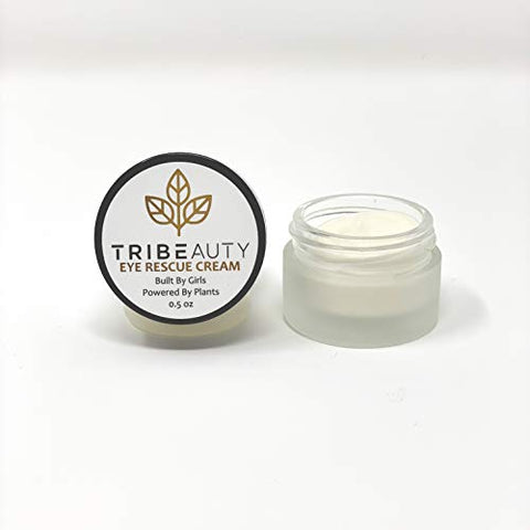 Tribeauty Under Eye Cream Anti Aging | Plant Based Eye Cream For Dark Circles And Puffiness | Reduce