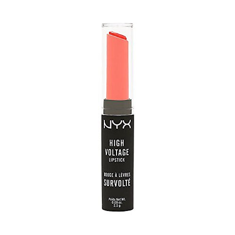 3 x NYX Cosmetics High Voltage Lipstick 2.5g - HVLS07 Beam