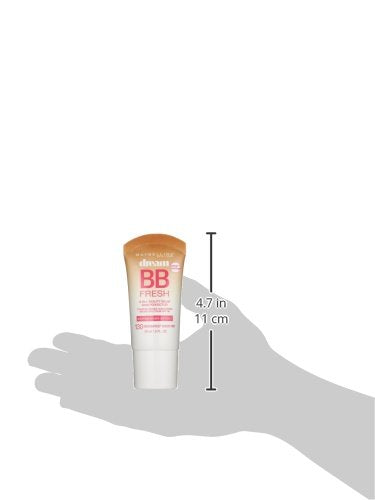 Maybelline New York Makeup Dream Fresh Bb Cream, Medium/Deep Skintones, Bb Cream Face Makeup, 1 Fl O