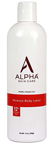 Alpha Skin Care Renewal Body Lotion | Anti Aging Formula |12% Glycolic Alpha Hydroxy Acid (Aha) | Re