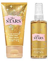 Bath and Body Works In The Stars Travel Size Set Body Cream 2.5 Oz. and Fine Fragrance Mist 3 Oz.