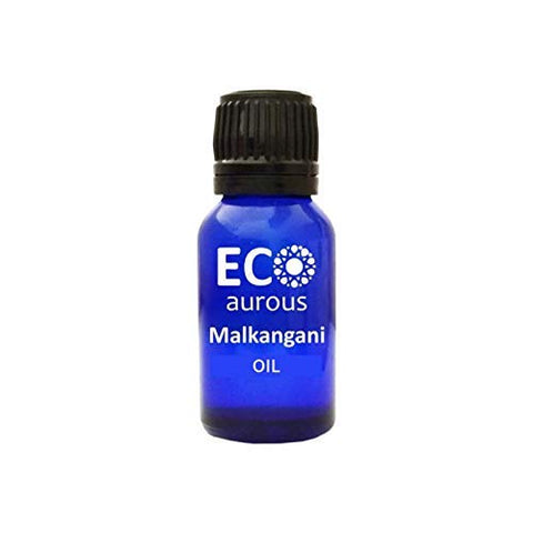 Malkangni Oil (Celastrus Paniculatus) 100% Natural, Organic, Vegan & Cruelty Free Malkangni Essential Oil | Malkangani Oil | Pure Malkangni Oil By Eco Aurous (1.01 oz, 30 ml)
