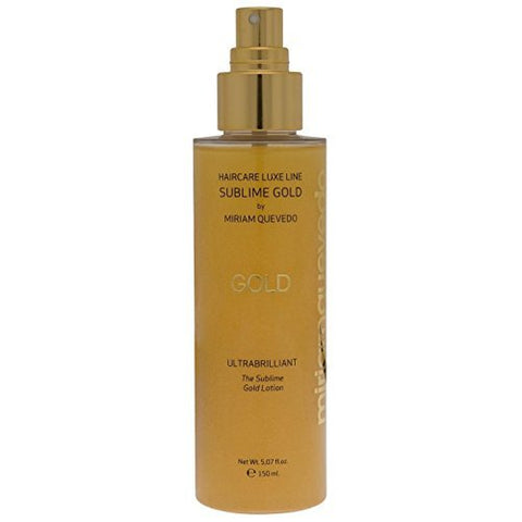 miriamquevedo Mediterraneum ULTRA BRILLIANT SUBLIME GOLD LOTION with Micronized 24kt Gold,Caviar,Organic Argan Oil by Miriam Quevedo, 5.07 fl oz Made in Spain.
