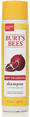 Burt's Bees Very Volumizing Shampoo Pomegranate 10 oz (Pack of 6)