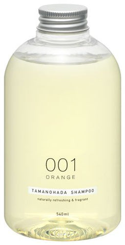 TAMANOHADA Shampoo Naturally Refreshing and Fragrant, No. 001 Orange, 18.25 Fluid Ounce