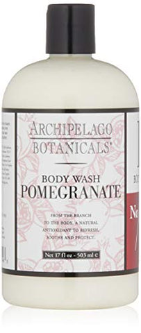 Archipelago Botanicals Pomegranate Body Wash, 17 Fl Oz