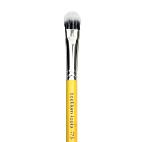 Bdellium Tools Studio Line Yellow Duet Fiber Shader Brush