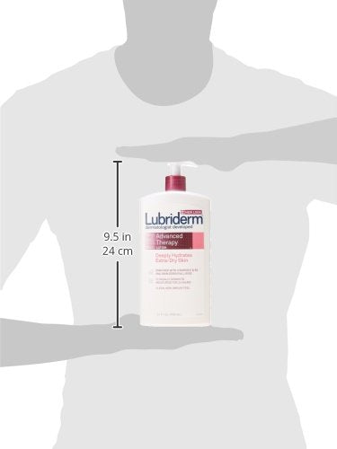 Lubriderm Advanced Therapy Lotion, For Extra Dry Skin, 24 fl. Oz