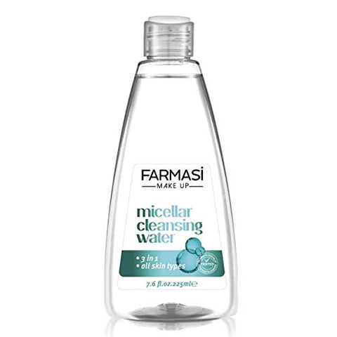 Farmasi Make Up Micellar Cleansing Water 3 in 1 For All Skin, 225 ml./7.06 fl.oz.