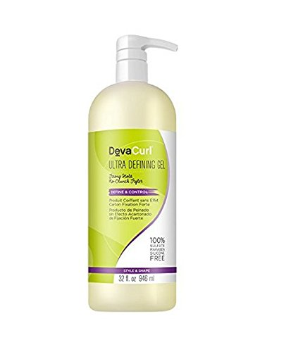Deva Curl Ultra Defining Hair Gel, 32 Fl Oz (Pack Of 1)