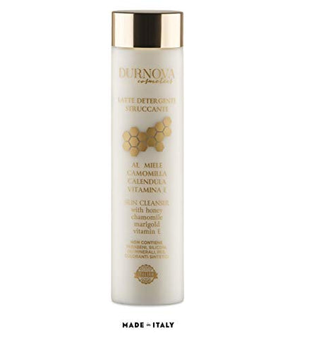 Durnova - Skin Cleanser - Latte Detergente Struccante - Makeup remover - Made in Italy