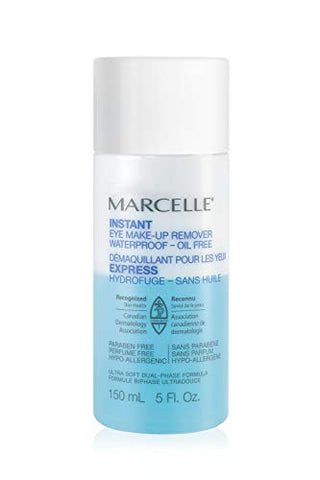 Marcelle Instant Eye Makeup Remover, Hypoallergenic And Fragrance Free, 150 M L