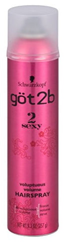 Got 2B 2 Sexy Hairspray Voluptuous Volume 9.1 Ounce (269ml) (2 Pack)