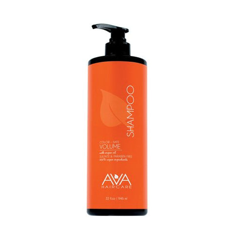 Ava Haircare   Volume Shampoo   Vegan, Sulphate Free, Paraben Free, Cruelty Free (33oz)