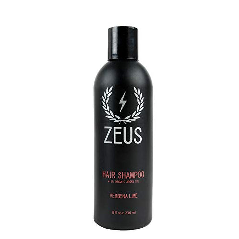 Zeus Hair Wash Set, Shampoo & Conditioner With Organic Argan Oil, Verbena Lime Scent