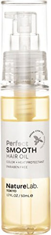 Nature Lab Tokyo Perfect Haircare Smooth Hair Oil (1.7 Ounce)