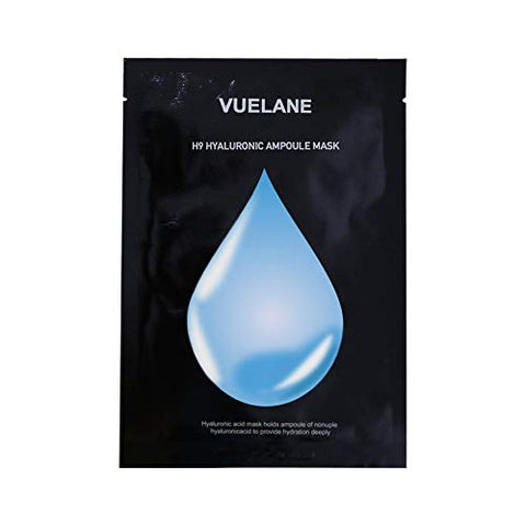 VUELANE Hydration Deeply Mask, 10 Pack H9 Hyaluronic Ampoule Hyaluronic Acid Mask Holds Ampoule of Nonuple Hyaluronicacid to Provide Hydration Deeply
