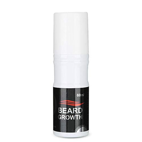 Beard Growth Products Beard Oil 60ml Men Beard Growth Spray Natural Accelerate Beard Growth Oil Facial Hair Growth Lequid