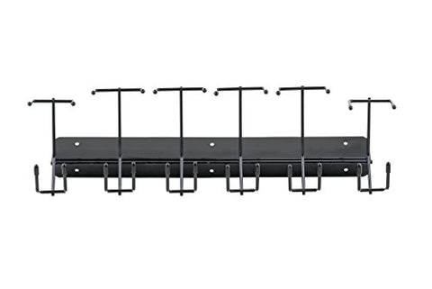 6 Slot Barber Buddy Clipper Rack For Barbers