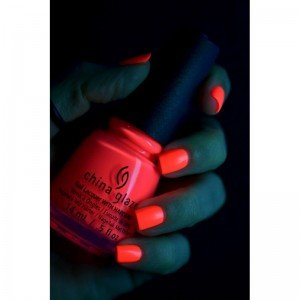 China Glaze Electric Nights Lacquer, Red'y To Rave, 0.5 Fluid Ounce
