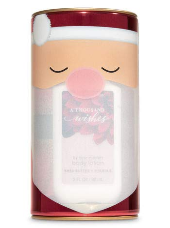 Bath and Body Works A THOUSAND WISHES Santa Capsule Gift Set - Body lotion - Fragrance Mist and Shower Gel - Travel Size