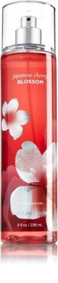 Bath & Body Works Japanese Cherry Blossom Fine Fragrance Body Mist - For Women (236 ml)