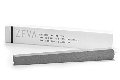 ZEVA Austrian Crystal Nail File - Stops Splitting, Peeling and Cracking, and Removes Excess Cuticle.
