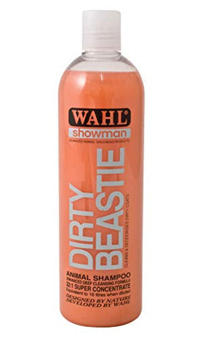 Wahl Dirty Beastie Shampoo 500ml 560g - Bulk Deal Of 6x