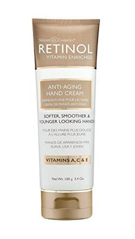 Retinol Anti Aging Hand Cream â?? The Original Retinol Brand For Younger Looking Hands â??Rich, Velv