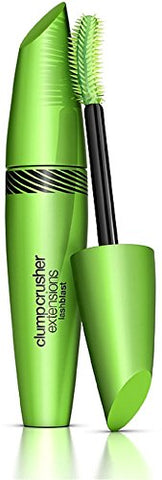 CoverGirl Clump Crusher Extensions Lashblast Mascara, Very Black [840] 0.44 oz (Pack of 5)
