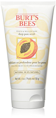 Burt's Bees Peach & Willowbark Deep Pore Scrub - 4 oz