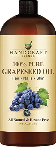 Handcraft Pure Grapeseed Oil   100% Pure And Natural   Premium Therapeutic Grade Carrier Oil For Aro