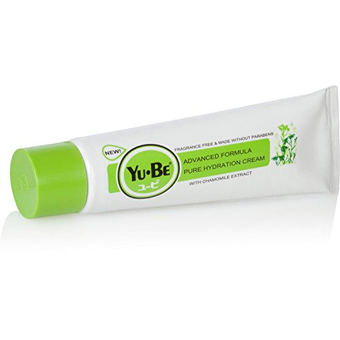 Yu Be Advanced Formula Pure Hydration Fragrance Free & Paraben Free Moisturizing Repair Cream For Se