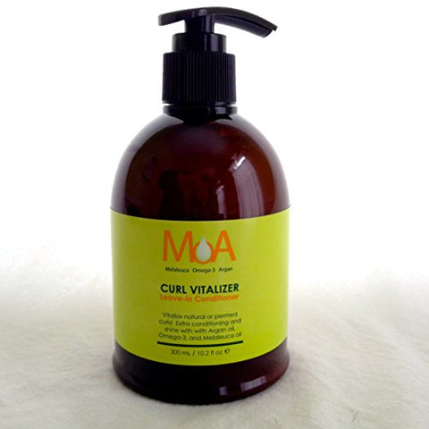 MOA Melaeluca Omega-3 Argan CURL VITALIZER Leave-in Conditioner, 10.2 Ounces