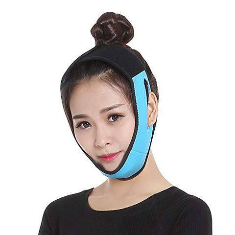 TOTAMALA Facial Lifting Belt for Women, V Face Belts Correction Belt, V-Line Chin Cheek Lift Up Band Anti Wrinkle Bandage, Slimming Bandages Belt Compression Double Chin Care Cheek Slim Lift Up