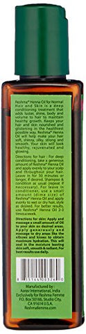 Reshma Beauty Henna Oil For Normal Hair And Skin