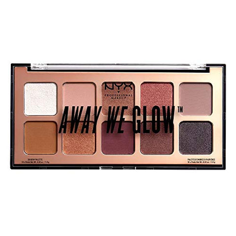 NYX away we glow love beam palette