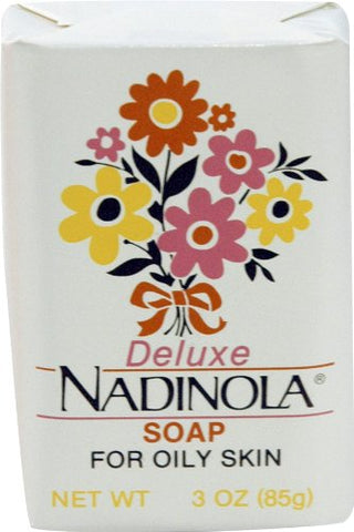 Nadinola Deluxe Soap 3 oz. (Pack of 6)