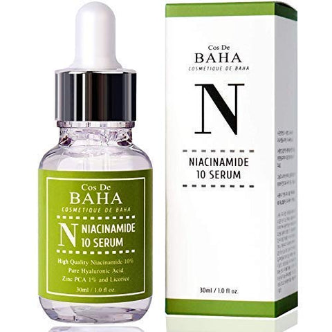 Niacinamide 10% + Zinc 1% Serum For Face   Pore Reducer + Vitamin B3 For Brightening + Uneven Skin T