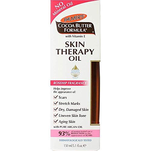 Palmer's Cocoa Butter Formula Skin Therapy Moisturizing Body Oil With Vitamin E, Rosehip Fragrance |