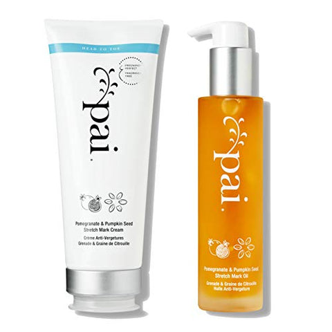 Pai Skincare Petit Pai Stretch Mark System - Pomegranate & Pumpkin Seed Hydrating Cream and Nourishing Oil
