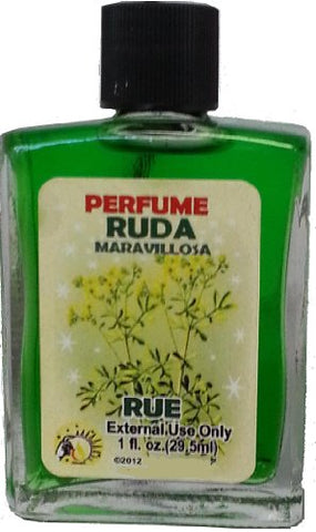 Rue, Spiritual Perfume for Magic and Rituals. Perfume Espiritual Ruda Para Rituales Y Magia