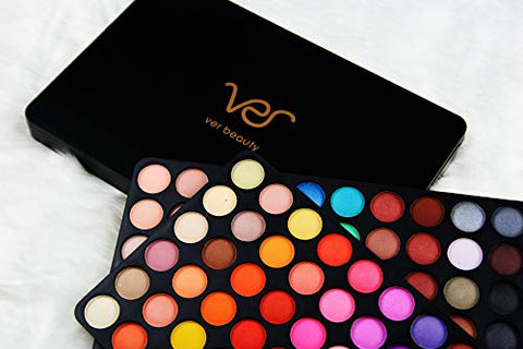 New Ver Beauty Makeup Kit Cosmetic 120 Matte and Shimmer Eyeshadow Holiday Gift