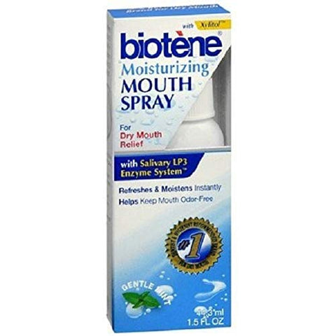 Biotene Moisturizing Mouth Spray, 1.5 fl oz - 2pc