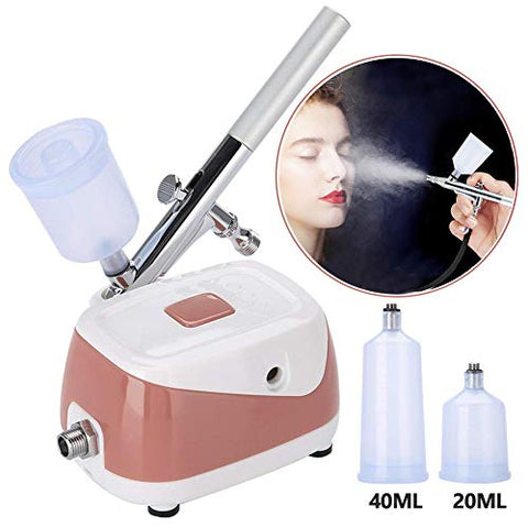 Annwah Upgrade 40 Ml Professional Oxygen Facial Machine, Nano Water Oxygen Spray Injection Home Spa F