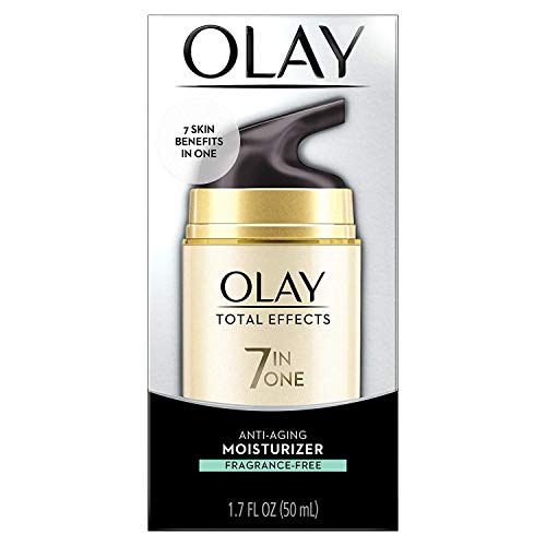 Olay Total Effects Anti Aging Face Moisturizer With Vitamin E, Fragrance Free 1.7 Fl Oz