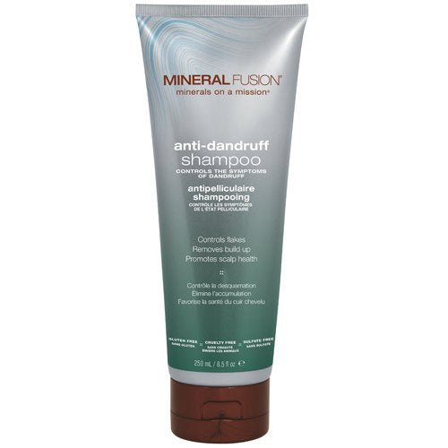 Mineral Fusion Shampoo, Anti Dandruff, 8.5 Ounce (Packaging May Vary)