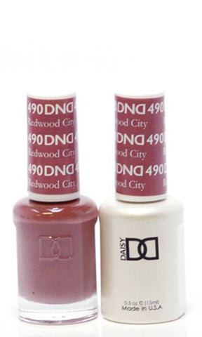 DND Gel & Matching Polish Set (490 - Redwood City)