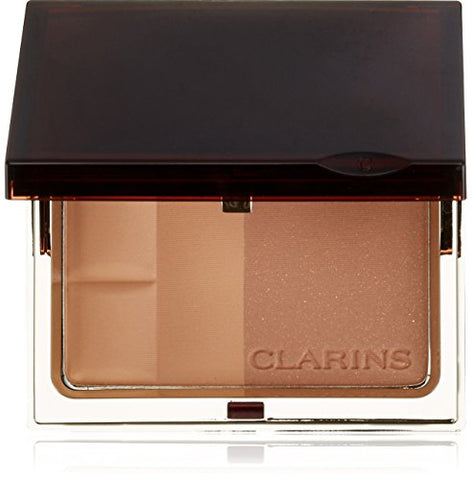 Clarins Bronzing Duo Mineral Powder Compact Spf 15 01 Light 10g/0.35oz