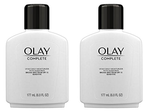 Face Moisturizer By Olay Complete Lotion All Day Moisturizer With Sunscreen Spf 15 For Sensitive Ski